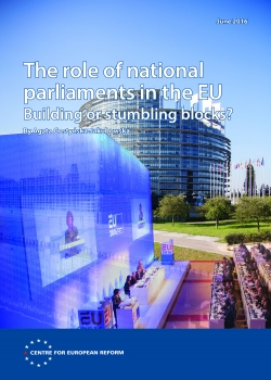 The role of national parliaments in the EU: Building or stumbling blocks