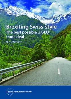 Brexiting Swiss-style: The best possible UK-EU trade deal
