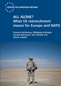 Launch of 'All alone? What US retrenchment means for Europe and NATO' event thumbnail