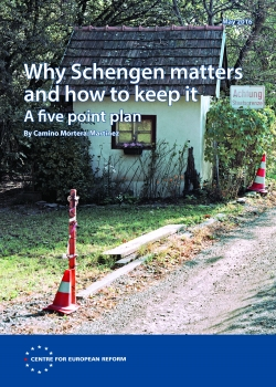 Why Schengen matters and how to keep it: A five point plan