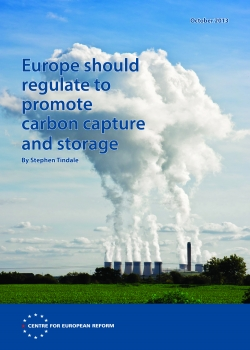 Europe should regulate to promote carbon capture and storage