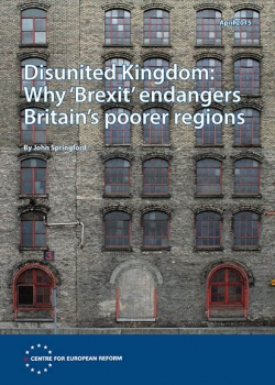 Disunited Kingdom: Why 'Brexit' endangers Britain's poorer regions